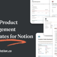Product Management Library for Notion
