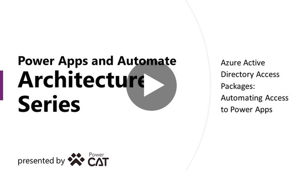 Automating Application Access With AAD Access Packages