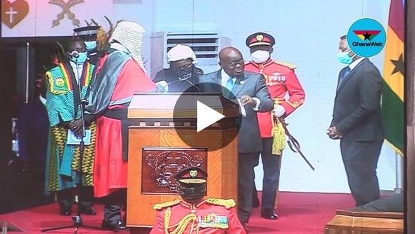 Swearing-in of President Nana Addo Dankwa Akufo-Addo