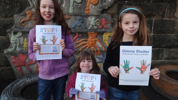 Young voices in Hyndland say 'Gimme shelter'