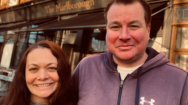 Giovanna and Phil McDonald opened their bar restaurant just before Christmas.