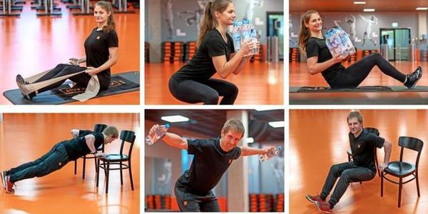 Fitness zu Hause: Experten des Fit X in Rostock zeigen die besten Übungen im Video