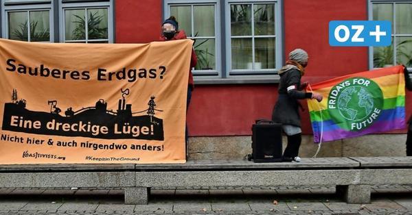 Nord Stream: Umweltschützer protestieren gegen geplante MV-Klimastiftung