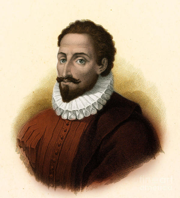 Miguel de Cervantes, like Shakespeare is one of those writers that has inspired many many authors through his novel, Don Quixote e la Mancha(1605). And like Shakespeare, we know very little about him. Perhaps the fact that he provided inspiration for Alexandre Dumas' The Three Musketeers (1844) and Mark Twain's Adventures of Huckleberry Finn (1884,) is enough.