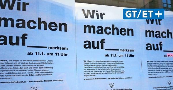 """""""Wir machen auf-merksam"""": Göttingens Einzelhandel fordert im Corona-Lockdown Unterstützung"""