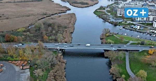 Spur auf Vorpommernbrücke gesperrt: Autofahrer sollen sie weiträumig umfahren
