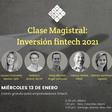 Clase Magistral sobre inversión fintech 2021