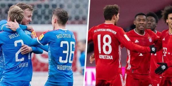 Holstein Kiel gegen FC Bayern München: Wie endet das Spiel?