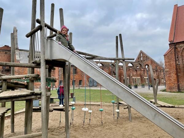 Der Spielplatz neben dem Kornhaus (Foto: Lennart Plottke)