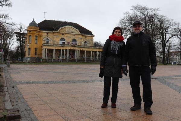 Umfrage in Kühlungsborn (Foto: Cora Meyer)