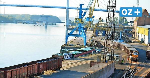 Seehafen Stralsund leidet unter Corona: Werftenkrise drückt den Umschlag an der Kaikante