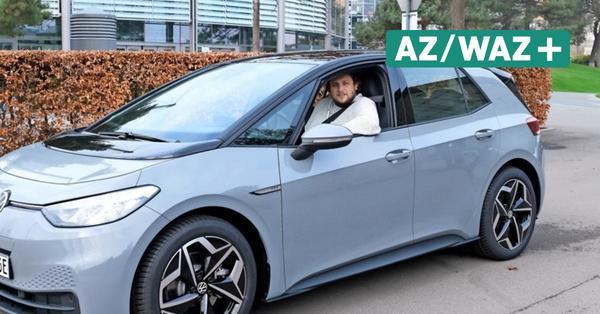 ID.3 von Volkswagen im Alltagstest: Redakteur Steffen Schmidt und sein E-Auto