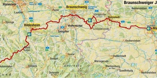 Braunschweiger Jakobsweg mit neuer Pilgerkarte
