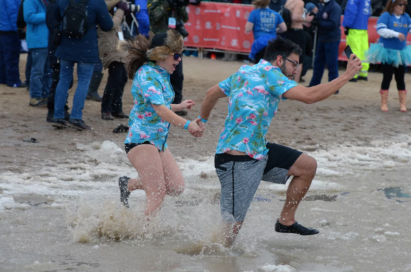 The Chicago Polar Plunge is going virtual this year. Blame the coronavirus pandemic. | Sun-Times file photo