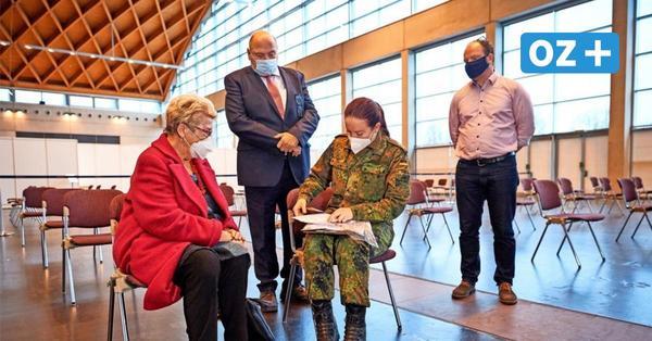 Impfzentrum am Flughafen Rostock-Laage gestartet: So läuft der Betrieb