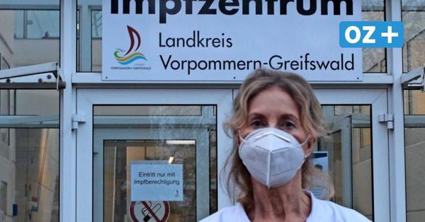 """Chefin des Greifswalder Impfzentrums zum Prozedere: """"Das Impfen selbst geht schnell"""""""