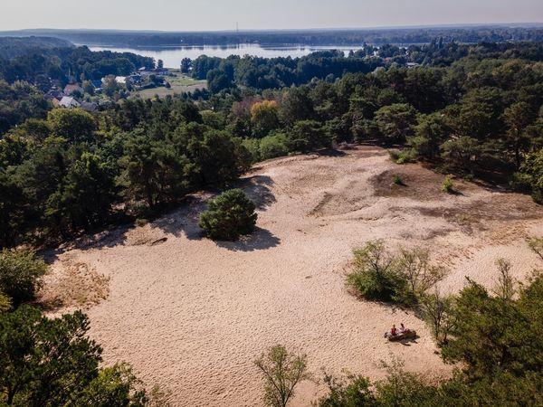 Die Binnendüne Waltersberge. Foto: Seenland Oder-Spree/Christoph Creuzburg
