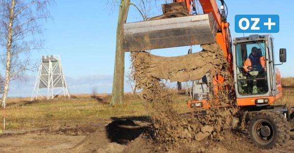 Baustart am Strand in Freest: Was hier alles entstehen soll