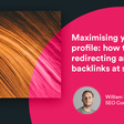 Maximising your link profile: how to find redirecting and broken backlinks at scale - Builtvisible