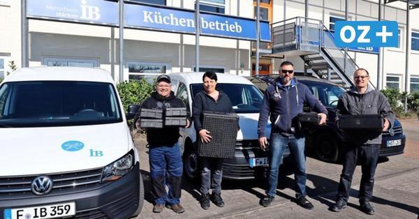 Stralsunds: Großküche des IB baut trotz Corona-Krise an