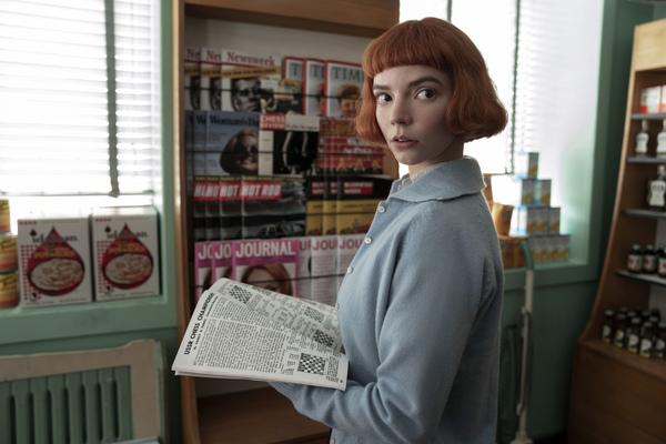 "Anya Taylor-Joy from the series ""The Queen's Gambit."" | Netflix via AP"