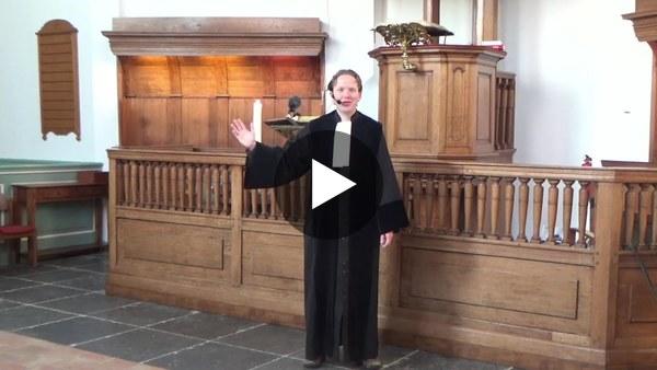 WOUBRUGGE - Verhaal van de twee zonen, kinderdienst van 10 januari (video)