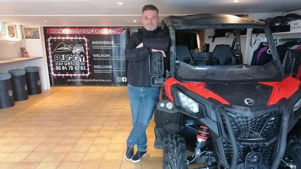 Nieppe : il fait découvrir la Flandre en buggy - Verken Frans-Vlaanderen met een buggy