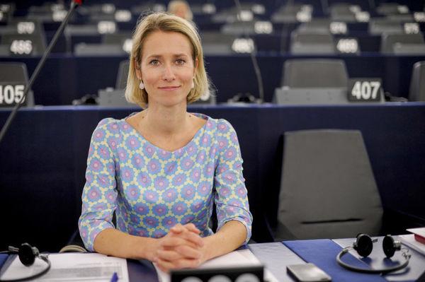 Kaja Kallas de nieuwe premier van Estland en oud Europarlementariër.