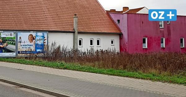 So herrschaftlich sah einst Haus Nr. 46 in der Barther Chausseestraße aus