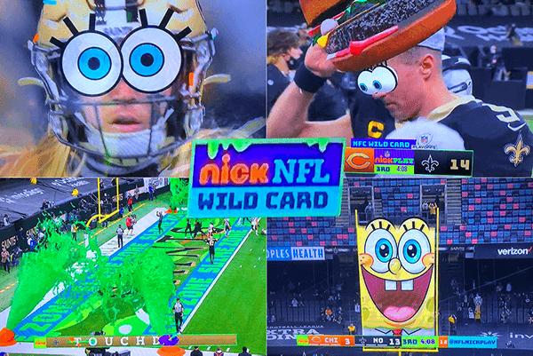 NFL on Nicelodeon