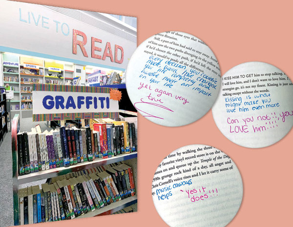 Graffiti Books: From Weeded to Wanted (and Written In!) | School Library Journal