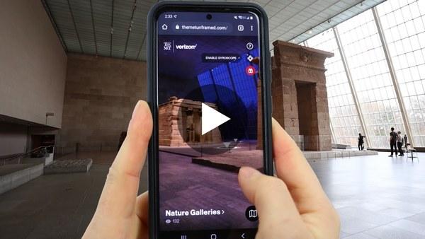 Visit The Metropolitan Museum of Art in AR