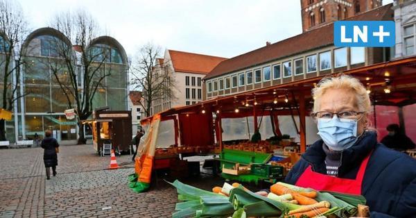 Diskussion um Lübecks Markt: Ungeeignet für einen Wochenmarkt?