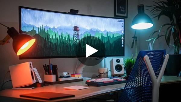My Productivity Desk Setup (2021)