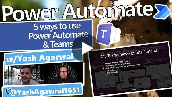 Top 5 Tips for Teams + Power Automate