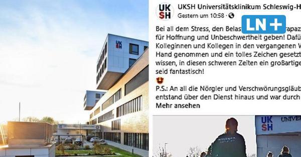 """UKSH Lübeck: Klinikpersonal tanzt bei """"Jerusalema Dance Challenge"""""""