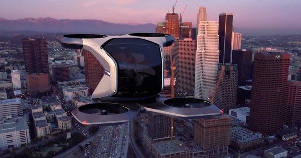 general motors unveils a fully autonomous flying cadillac concept at CES 2021
