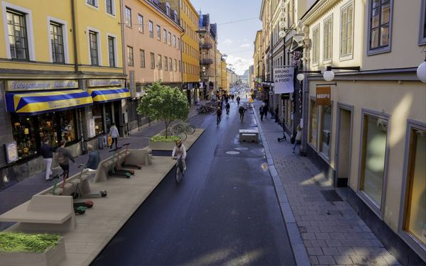 A Tiny Twist on Street Design: The One-Minute City