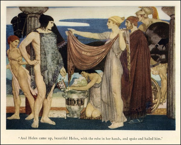 An Illustration from one of the many editions of The Odyssey, by Homer