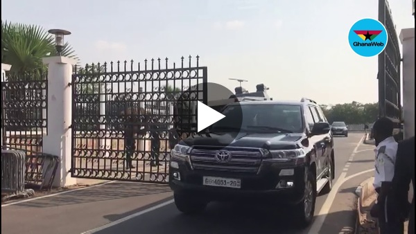 Police take charge at Supreme Court premises ahead of Mahama-Akufo-Addo election petition hearing