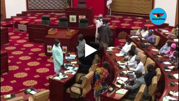 How the NDC and NPP MP's relate in parliament
