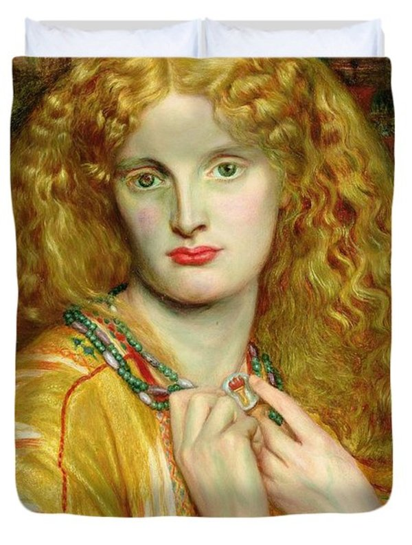 Helen of Troy is a painting by Dante Charles Gabriel Rossetti, 1863.