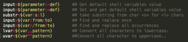 from: How To Use Bash Parameter Substitution Like A Pro