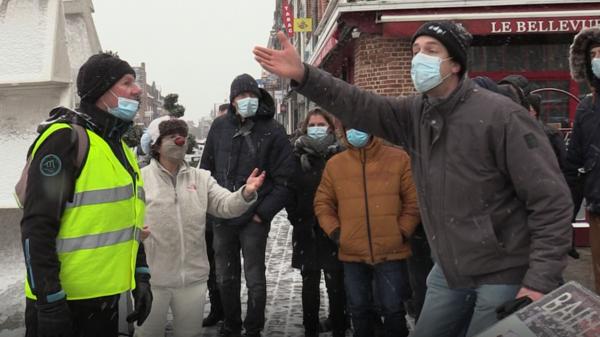 Manifestation à Bailleul: dialogue de sourds entre agriculteurs et opposants - Dovemansdialoog tussen landbouwers en opposanten