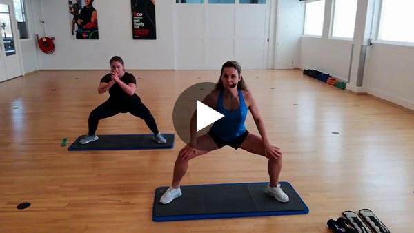 LEIMUIDEN - BBB Workout om thuis calorieën te verbranden (video)