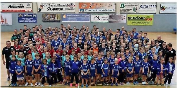 Auf nach Tokio: Grimmens Handballer wollen zu den Olympischen Spielen