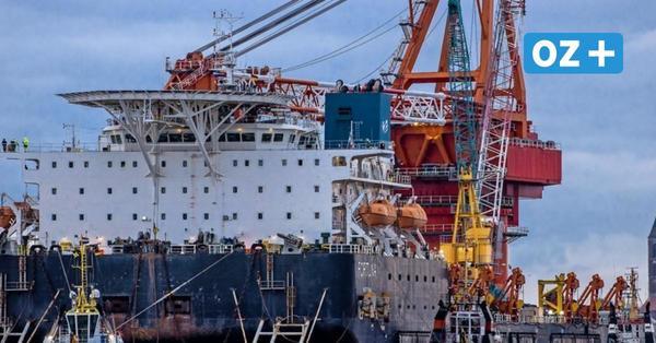 """US-Sanktionen wegen Nord Stream 2 gegen das in Wismar gestartete Schiff """"Fortuna"""" erwartet"""