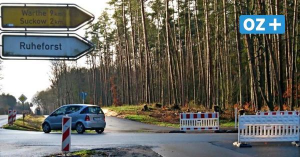 B110 auf Usedom: So soll der Abzweig in den Lieper Winkel sicherer werden
