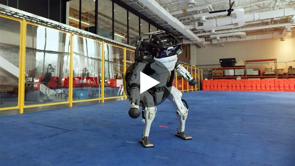 Watch Boston Dynamics robots dance to 'Do you love me'.  (Youtube - 2m54)