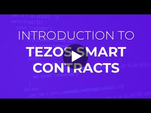 Introduction to Tezos Smart Contracts by Nomadic Labs